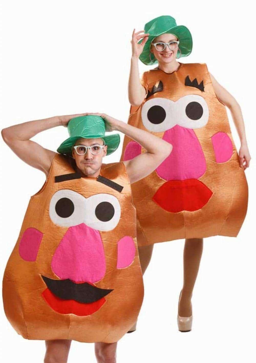 Disfraz de Sr. Cara Patata potato para adultos