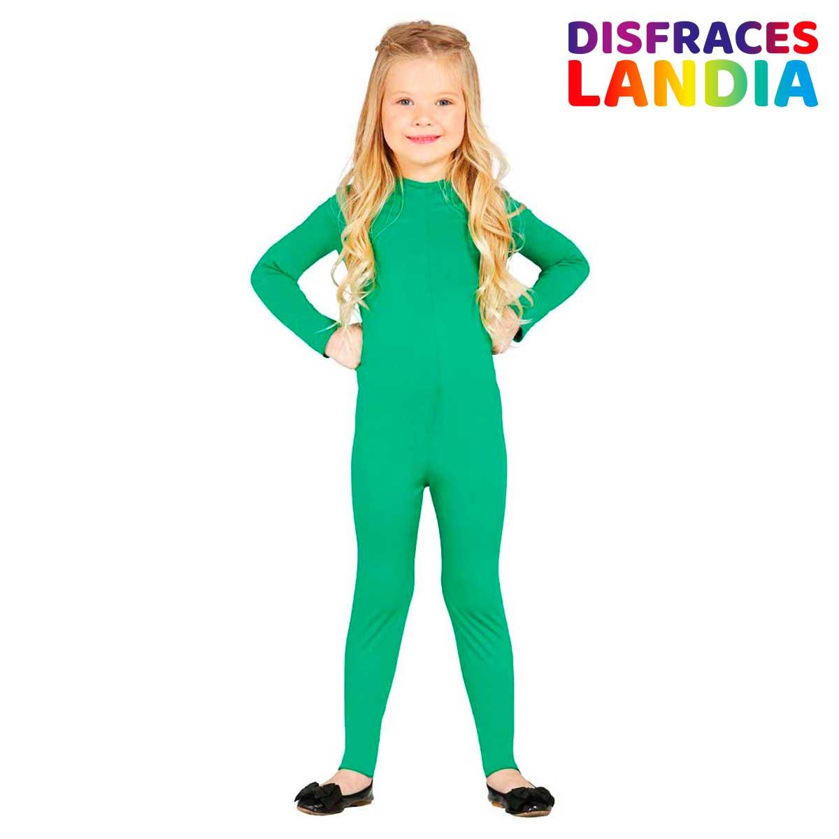 Maillot Body Color Verde - para Niña Infantil