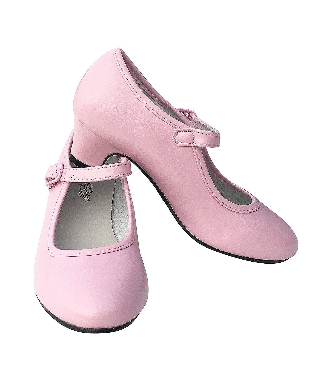 zapatos-sevillana-flamenco-nina-chica-rosa-bailaora