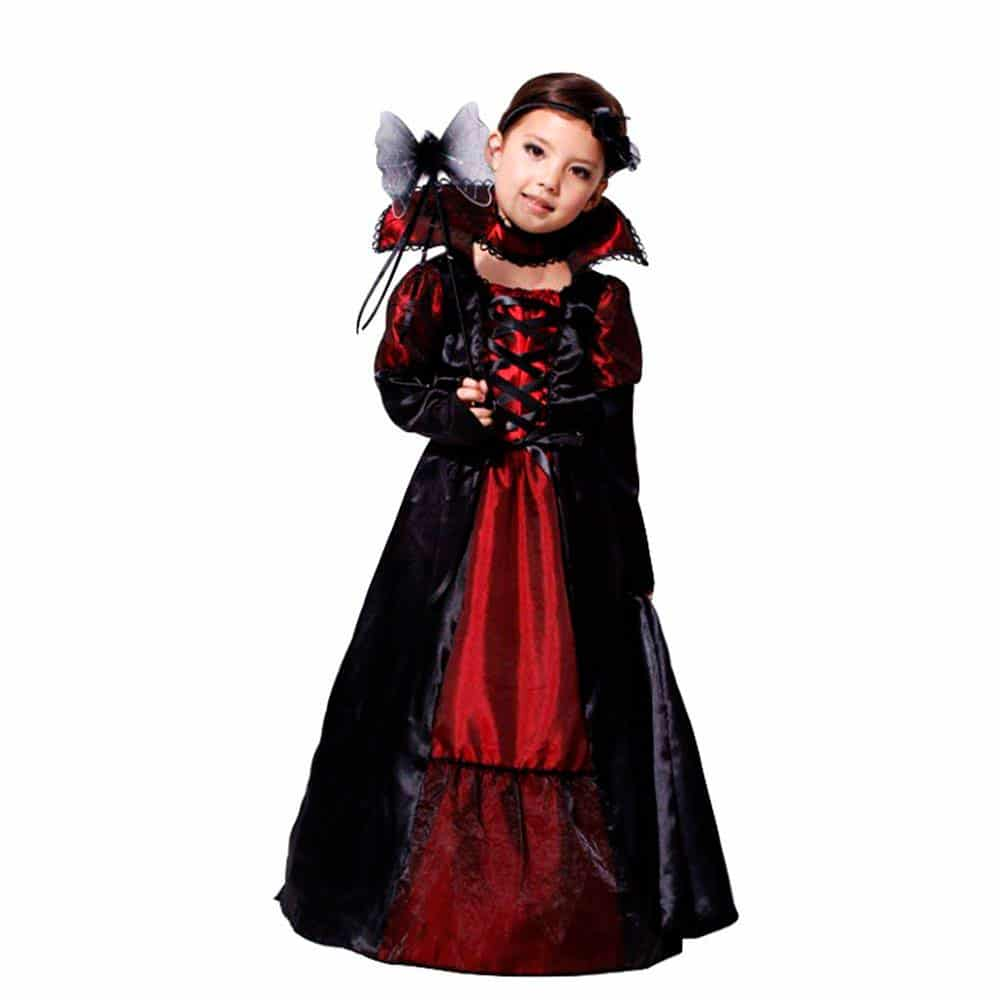 Disfraz de Reina de la Noche Halloween para niña