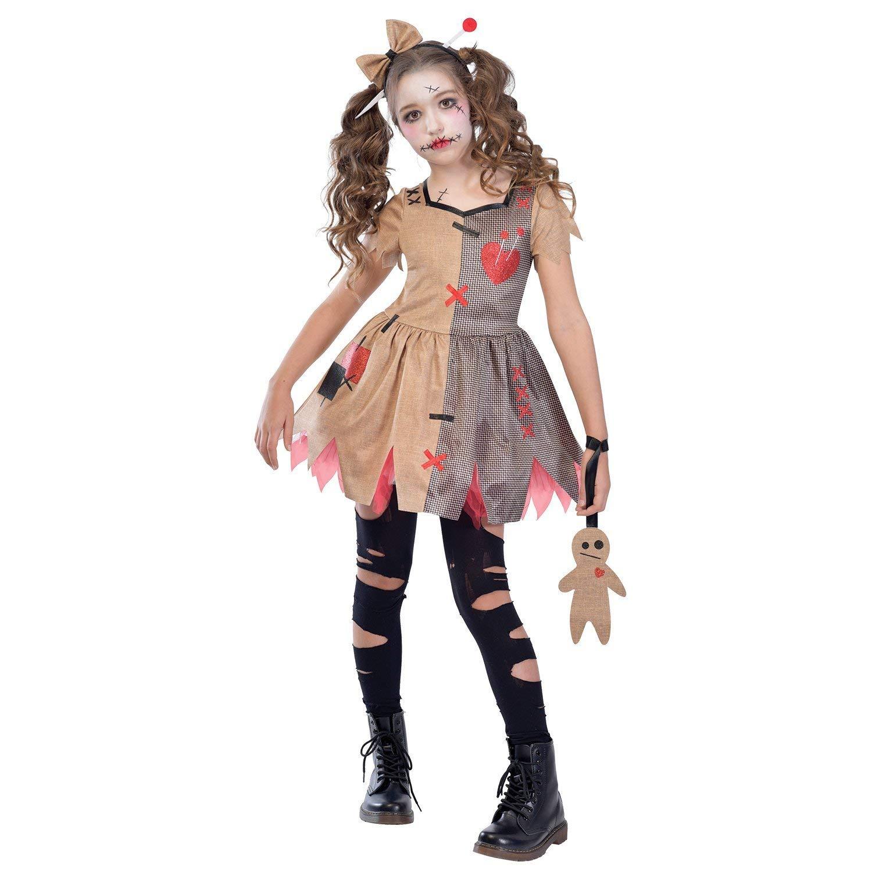 Disfraz De Víspera De Todos Los Santos De Halloween Para Niña Vudú