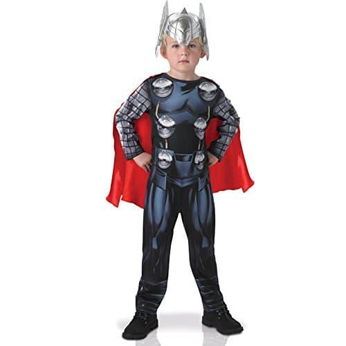 Disfraz oficial de Thor de Los Vengadores para niños–Rubies Rubie's