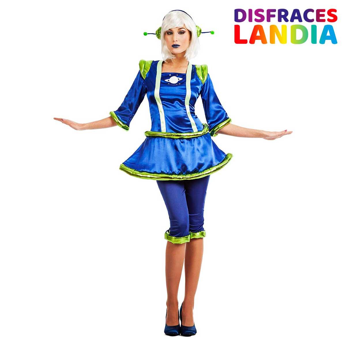 Disfraz Marciana Extraterrestre - Talla ML