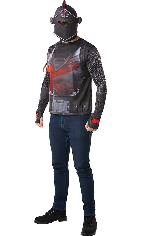 Fortnite - Disfraz camiseta Black Knight para adulto - Rubies