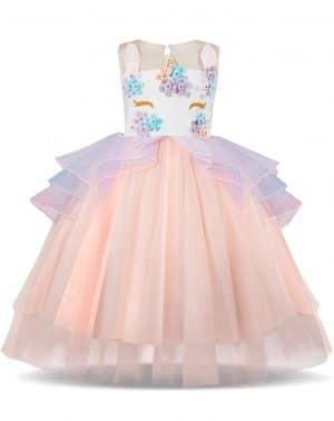 Disfraz Vestido Unicornio Princesa – Fiesta Boda Cumpleaños Cosplay