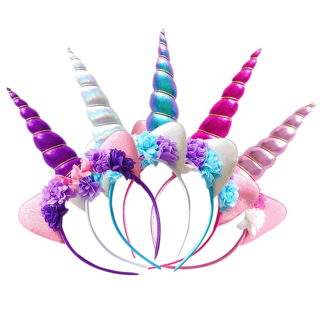 Diadema Tocado Unicornio Princesa Cumpleaños Disfraz Cosplay