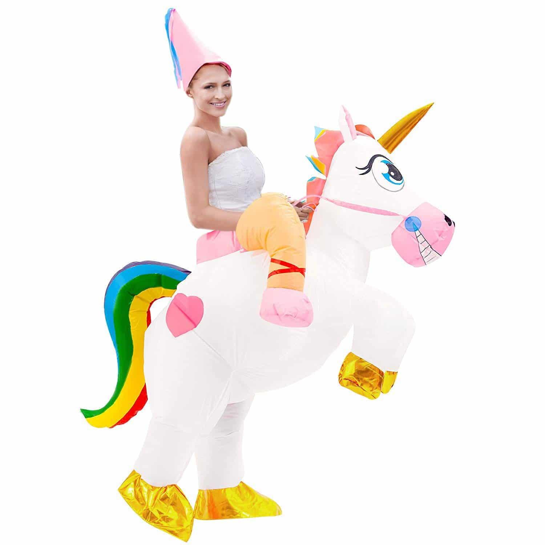 Disfraz Unicornio Hinchable adulto