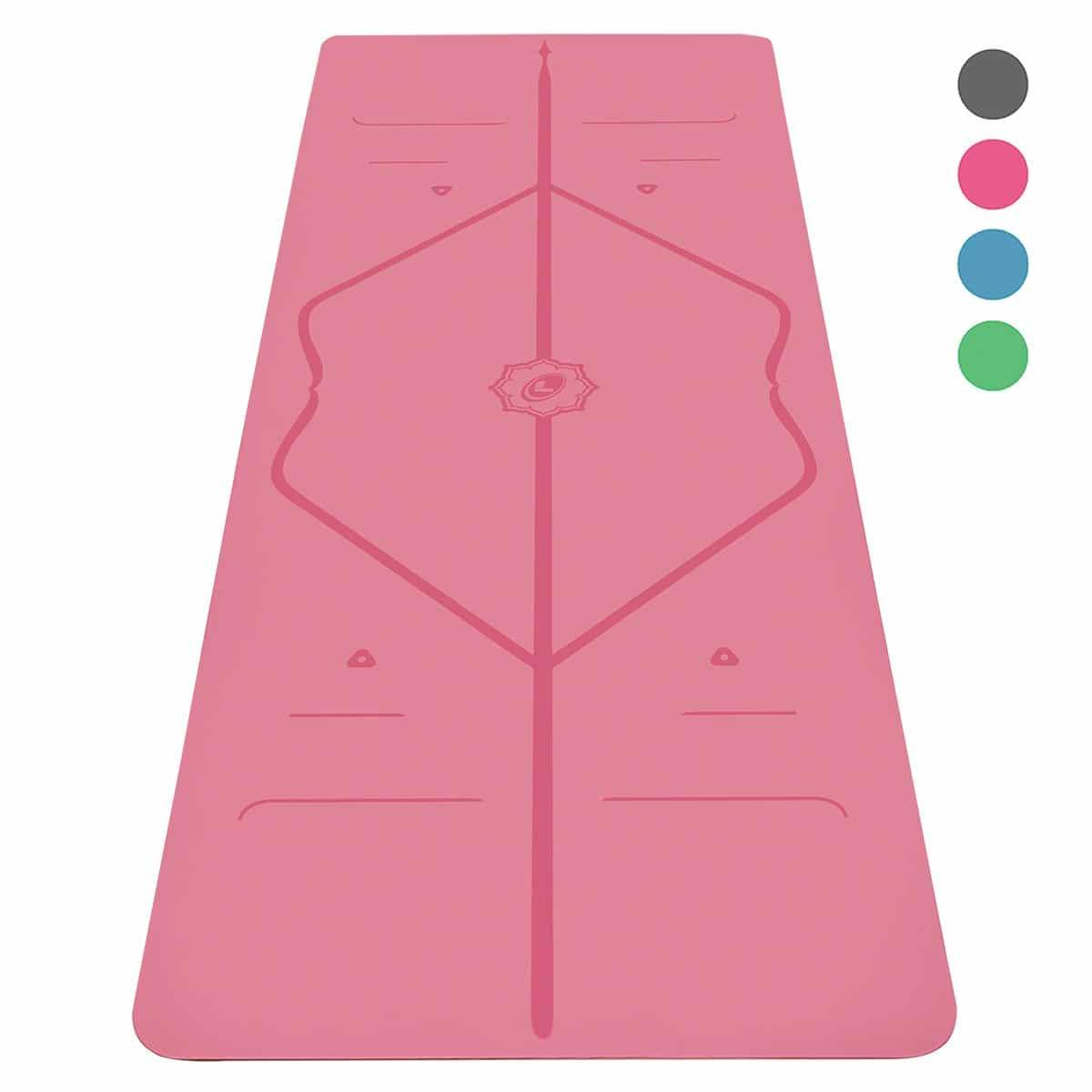 Esterilla Yoga Antideslizante Liforme Sistema De Alineación Original y Patentado Yoga Mat Ecológica