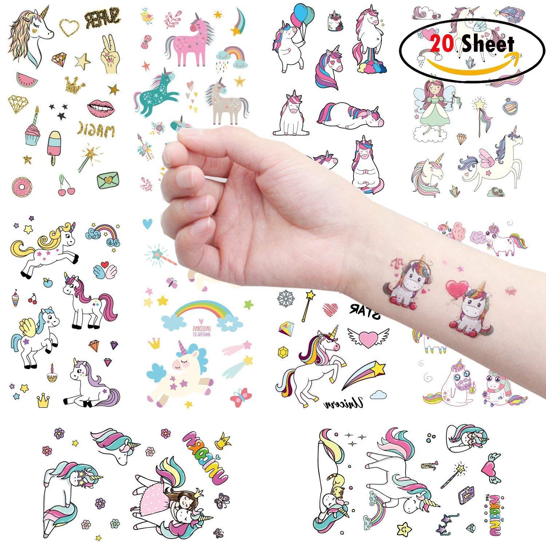 Tatuajes Unicornio Temporales