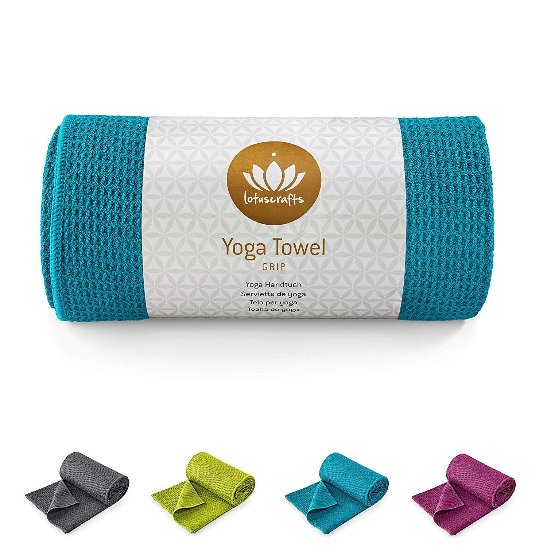 Toalla Yoga Antideslizante Lotuscrafts