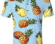 Camisa Hawaiana para Hombre Mujer Casual Manga Corta Camisas Playa Verano Unisex 3D Estampada Funny Hawaii