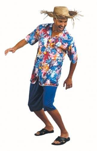 Disfraz de hawaiano para hombre - Camisa Hawaiana