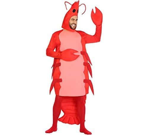 Disfraz Gamba Color Rojo Atosa 54248