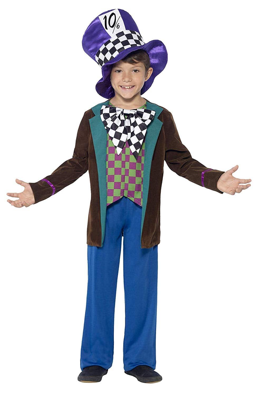 Disfraz Sombrerero Loco Infantil - Alicia País Maravillas Smiffys