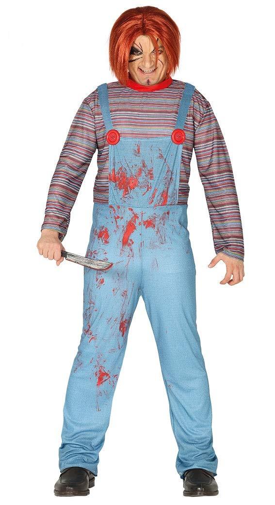 Rudy Disfraz Muñeco asesino Chuckie Adulto guirca 88366