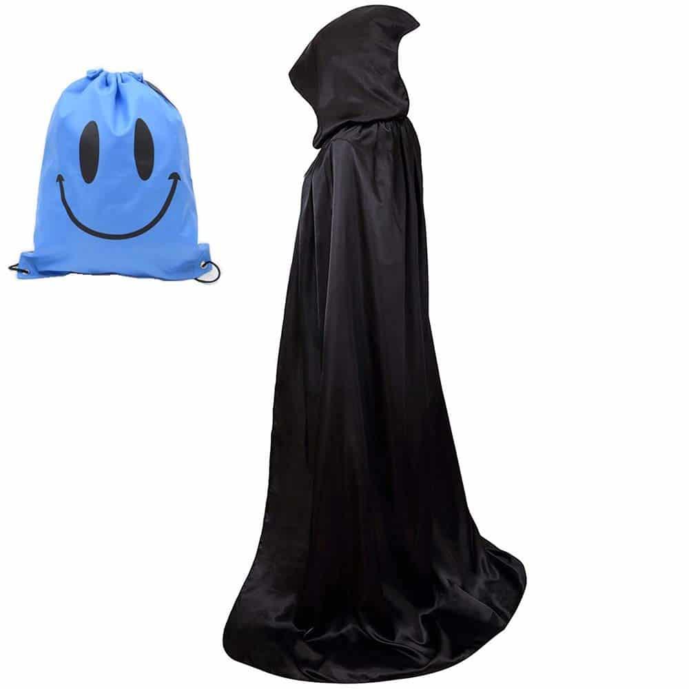 Capa con Capucha, Unisex Adulto Disfraz de Halloween Fiesta Disfraces Vampiro Traje