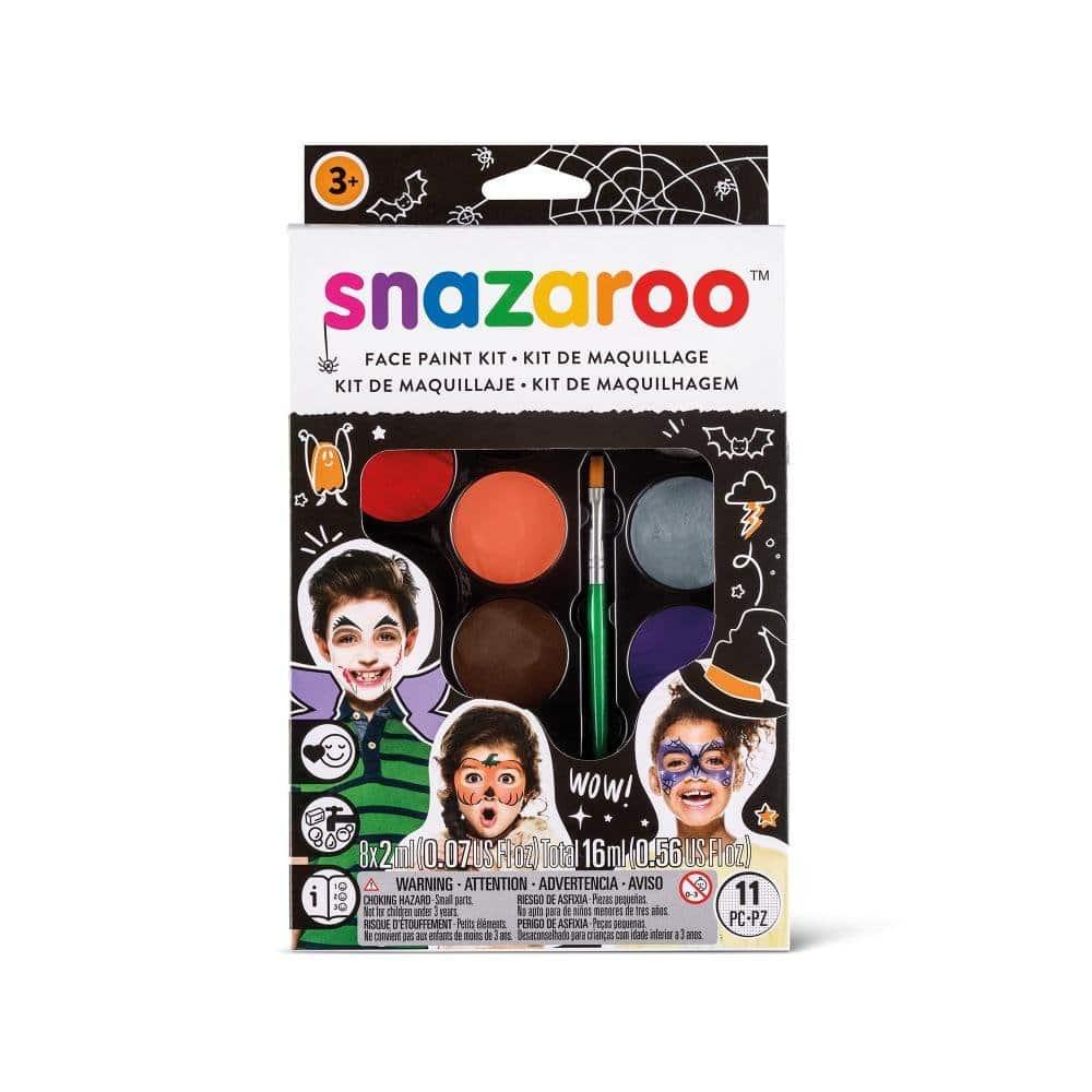 Snazaroo Kit de Maquillaje Pintura Facial - Halloween Multicolor