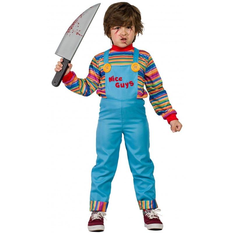 Disfraz Chucky Muñeco Diabolico - Halloween - Edad 3-4 años