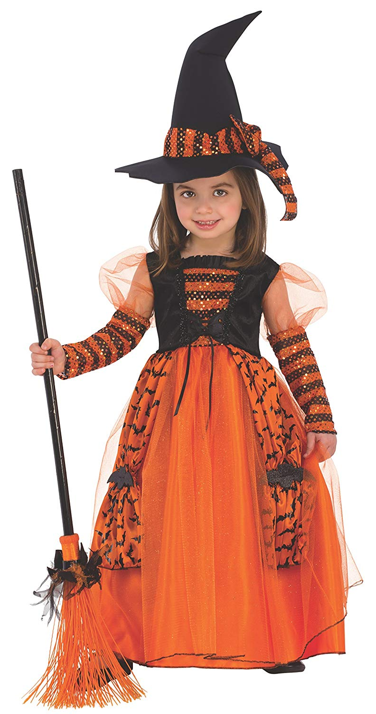Disfraz de Bruja Brillante para niña, infantil Varias tallas según edad Rubies