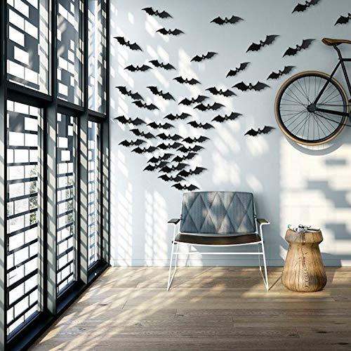 Comprar Decoración Pared Halloween 60 piezas 3D Bat Murcielagos Sayala - Tienda Online - Envíos Baratos o Gratis
