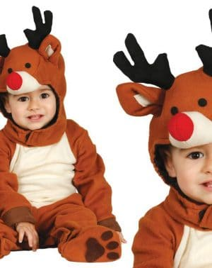 Disfraz de reno para bebé - 12-24 meses Comprar Disfraces Online