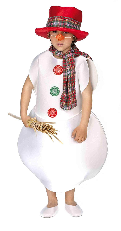 Disfraz Muñeco de Nieve Infantil - Varias Tallas