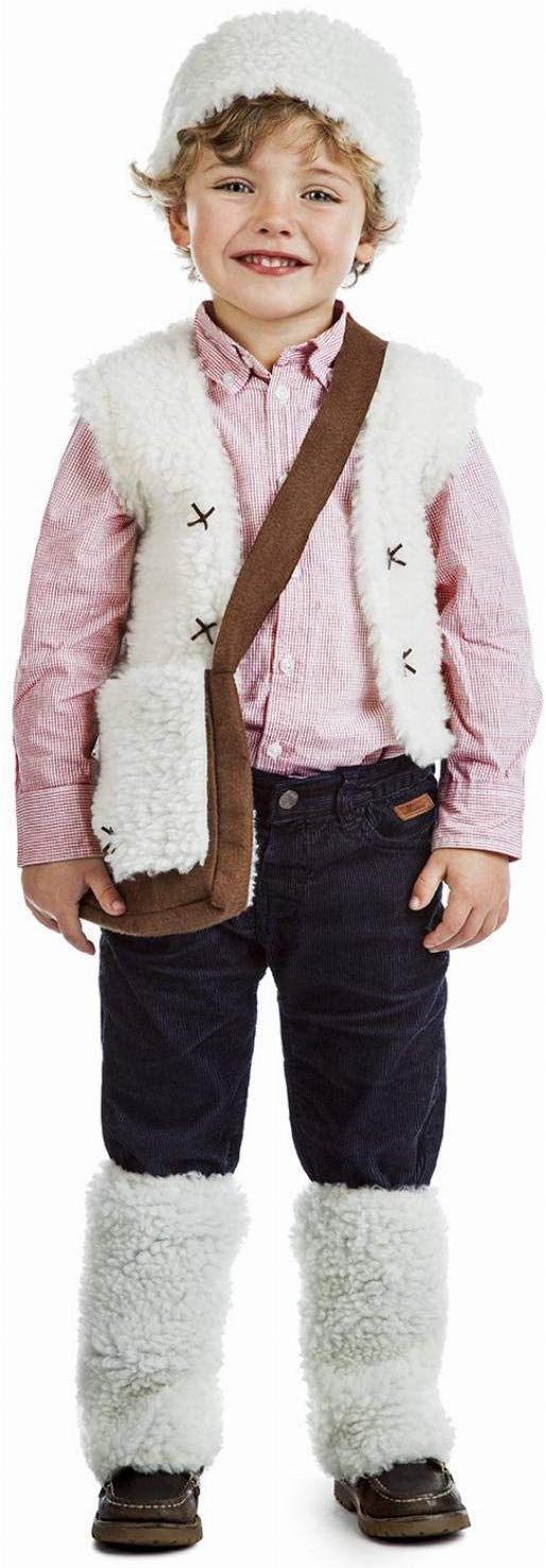 disfraz de pastor navidad para niño niña - portal de belen