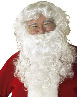 Rubies Peluca Y Barba con Bigote Papa Noel