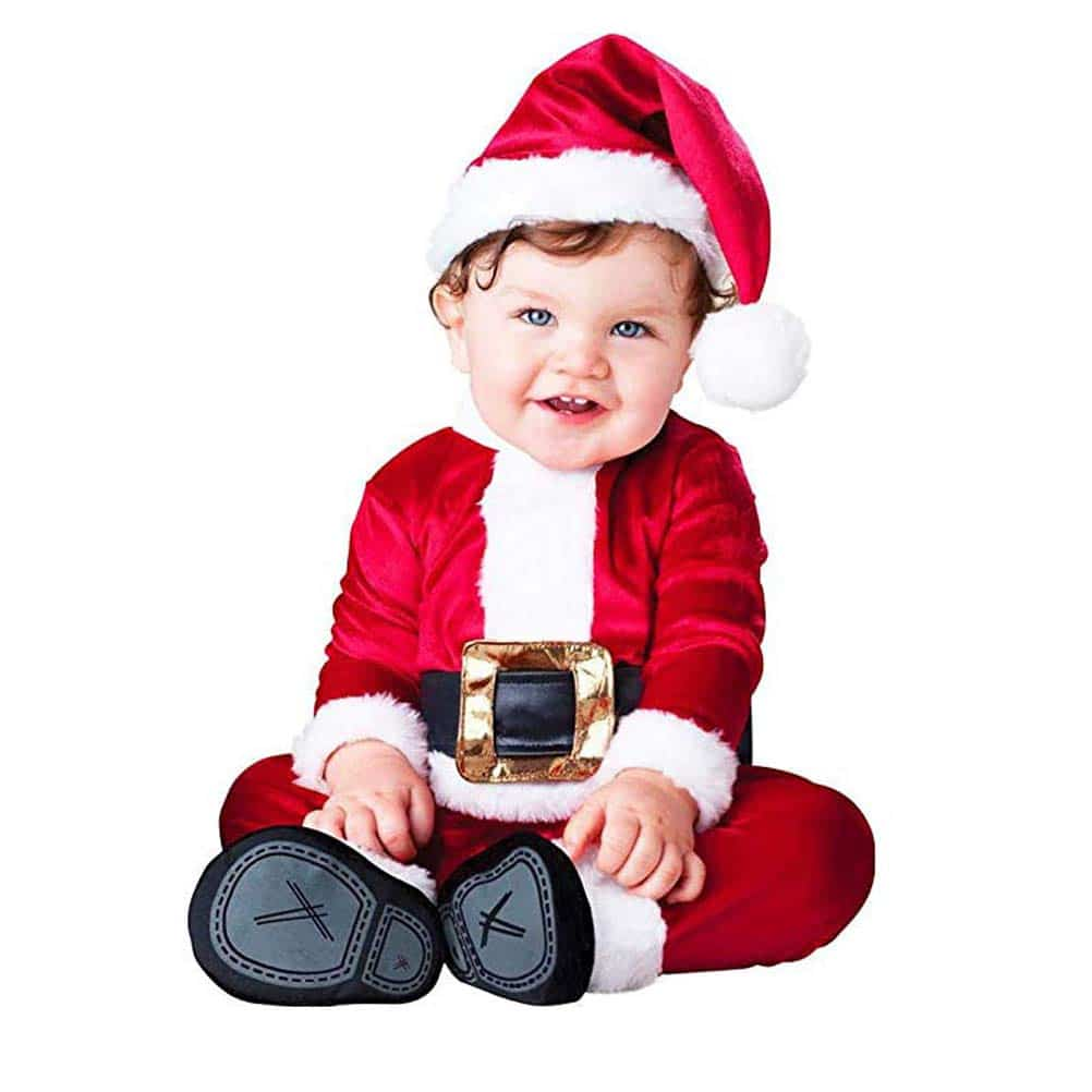 Disfraz de Papa Noel para Bebés