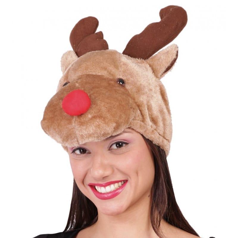 Gorro de reno Rudolf Original Comprar disfraces online