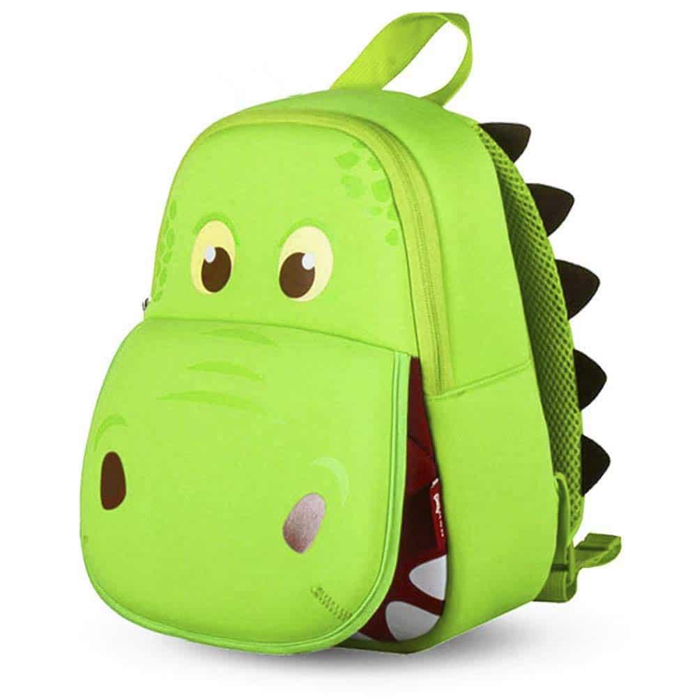Mochila Dinosaurio Infantil Impermeable para Niños