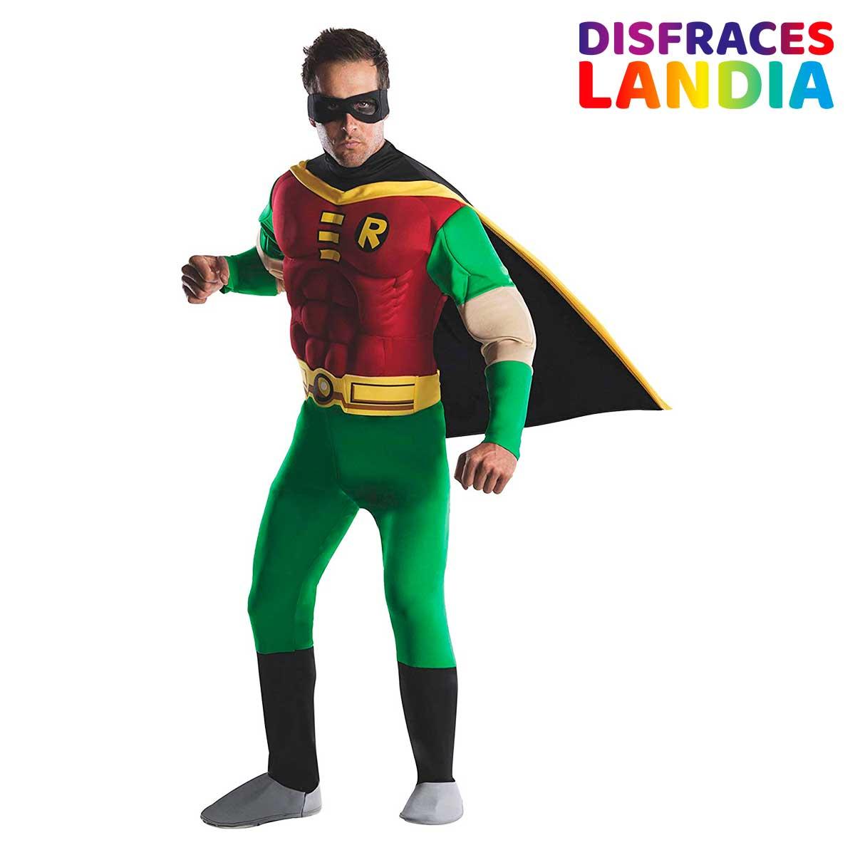 Batman - Disfraz de Robin Musculoso para hombre