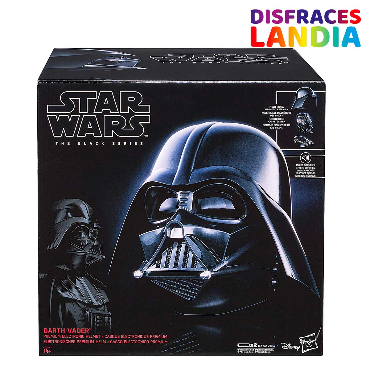 Casco Darth Vader - Star Wars - Black Series