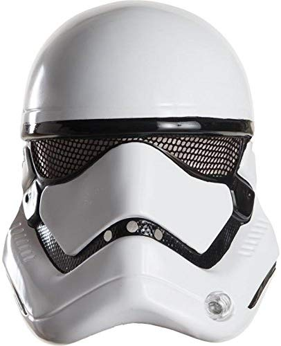 Rubies 's oficial escala 1: 2 Star Wars Stormtrooper Mask – ONE SIZE