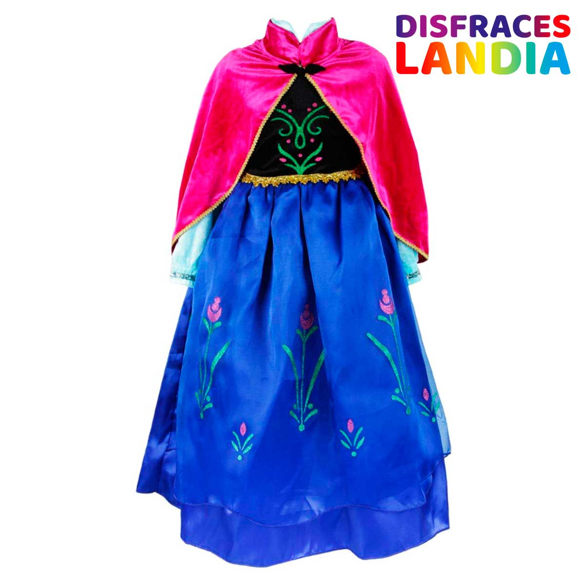 ELSA & ANNA® Disfraz Princesa Vestido Niñas