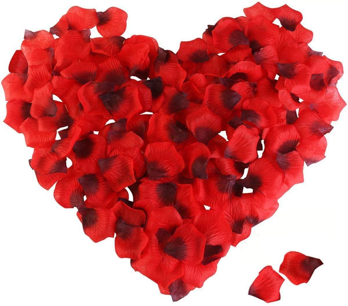 petalos de rosa - decoracion san valentin bodas eventos fiestas