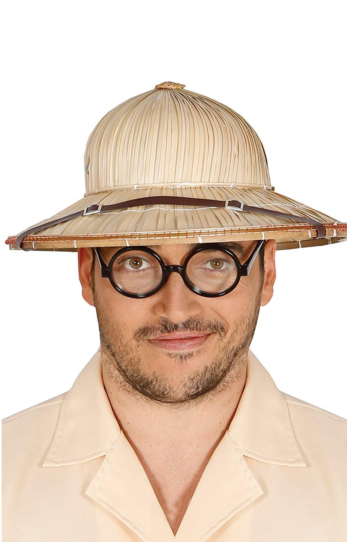 Sombrero explorador paja, Talla única Guirca