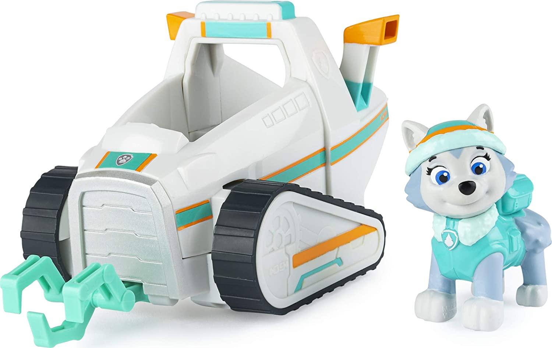 Patrulla Canina PAW Patrol Everest - Vehículo de quitanieves con Figura Coleccionable