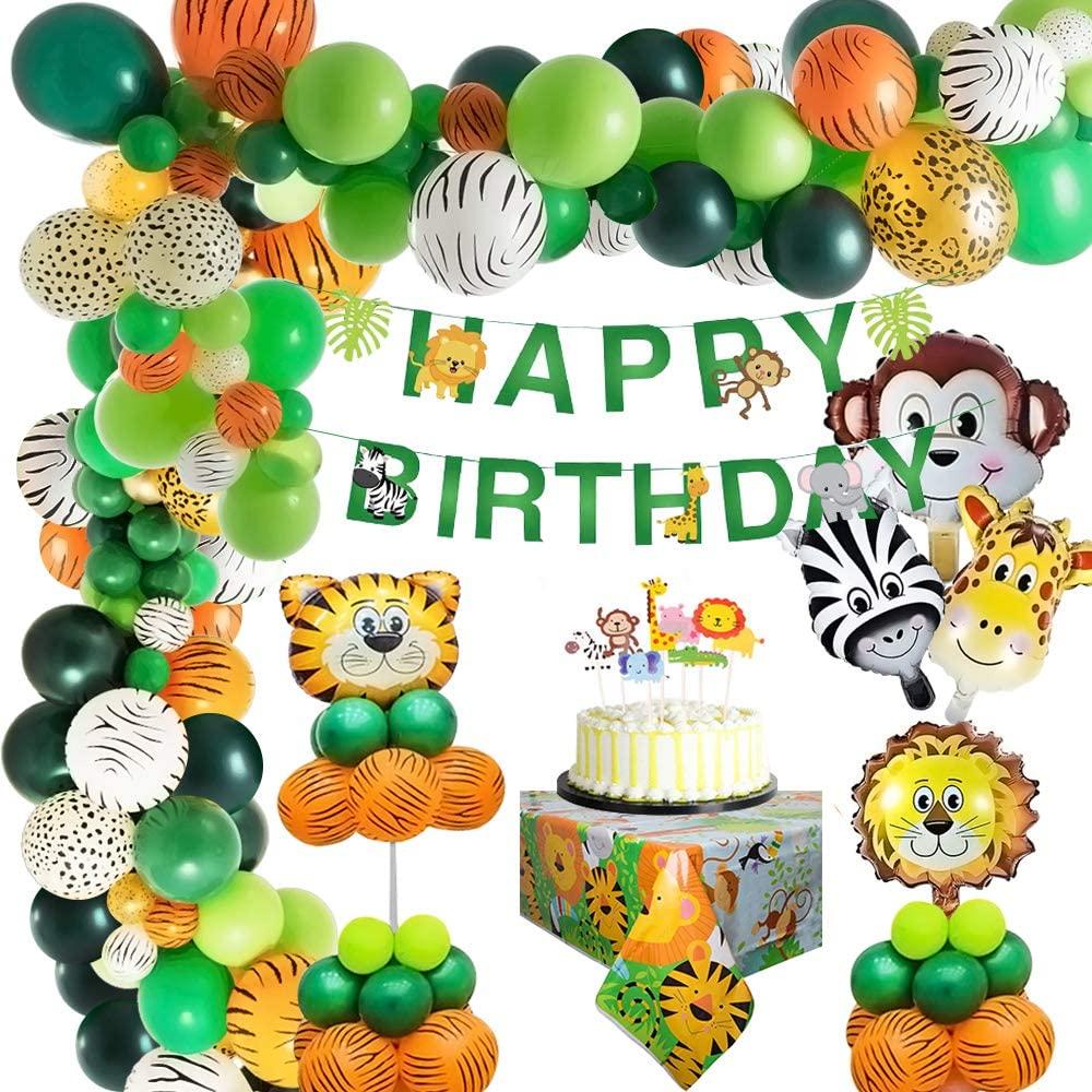 Selva Fiesta de cumpleaños decoracion