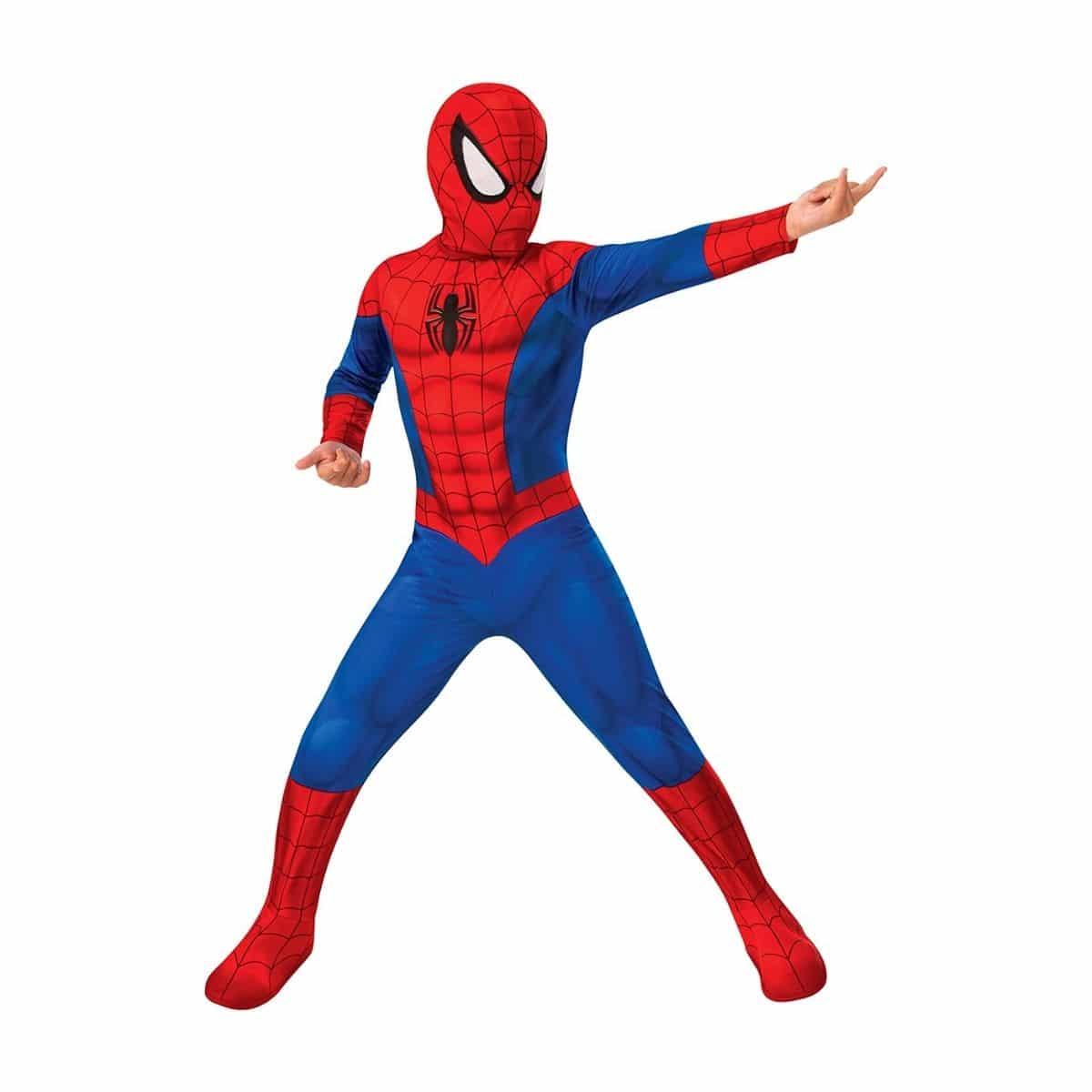disfraz spiderman niño infantil carnaval disfraces superheroe