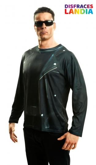 camiseta-3d-terminator-pelicula-tv-impresion-digital-realista-hiperrealista