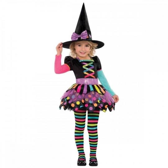 Disfraz Bruja de Halloween para niñas - Brujita Christys