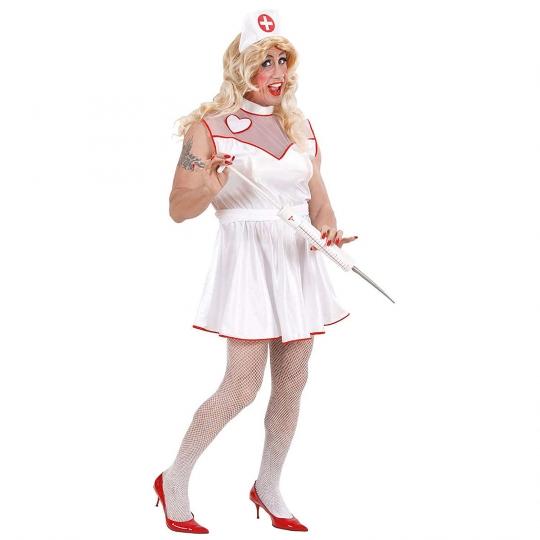 Disfraz de enfermera de hospital para hombre