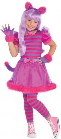 Disfraz de Gato Rosado Cheshire Cat Girls