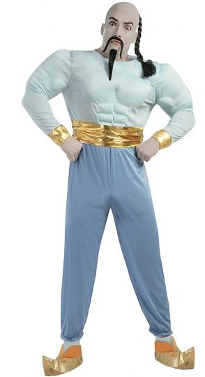 Disfraz Genio Aladino Aladdin musculoso