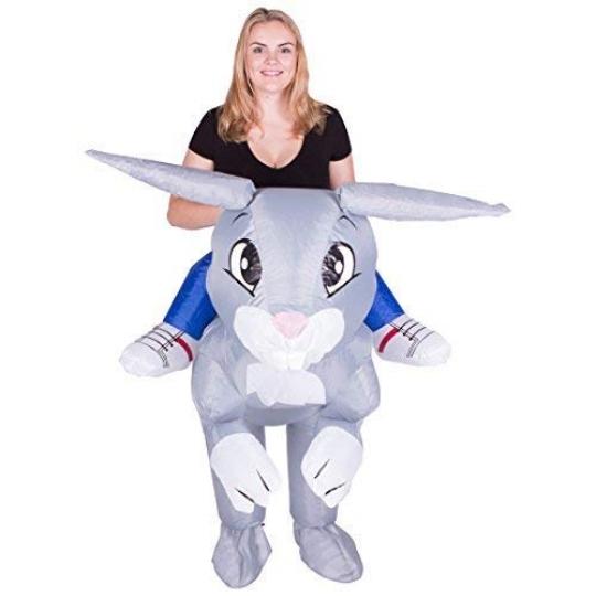 Disfraz Hinchable de Conejo Adulto