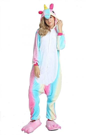 Disfraz Pijama Unicornio Arcoíris