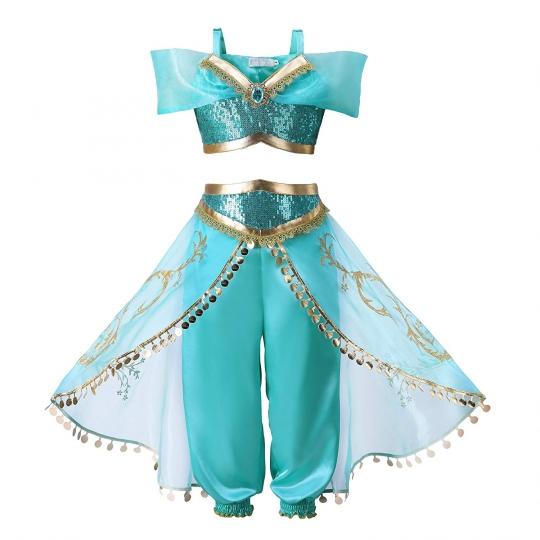 Disfraz de Princesa Jasmine Jazmín - Niñas