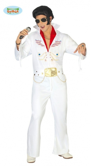 Disfraz del Rey del Rock Adulto