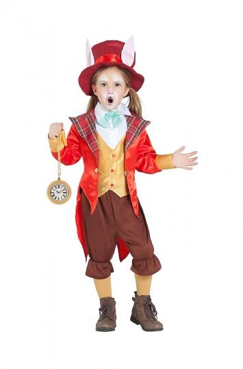 Disfraz de Sombrerero Conejo Alicia País Maravillas Infantil
